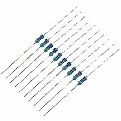 10 Pack 1//4 watt Metal Film Resistors 4.7K ohm SHIPS FROM USA