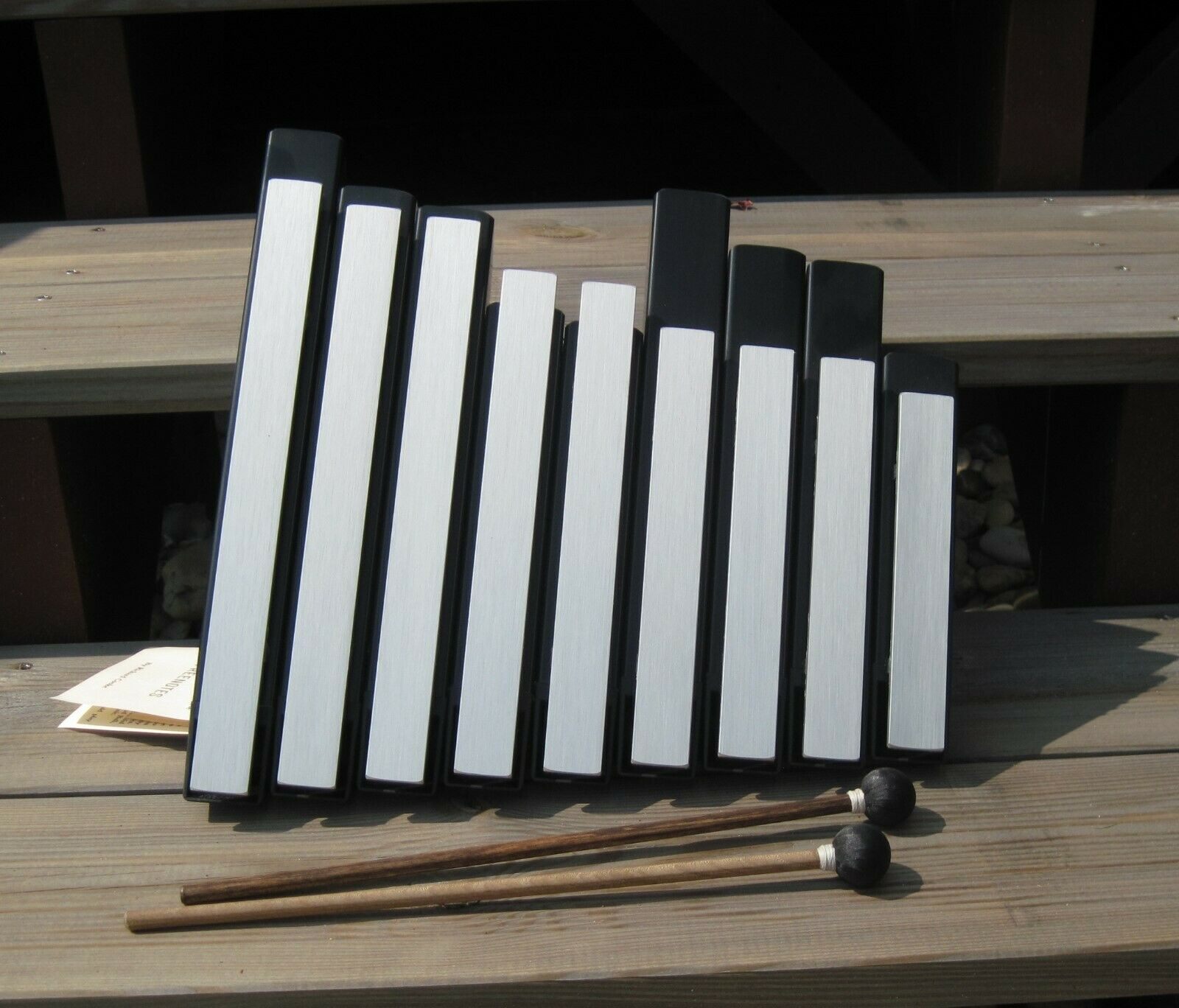 Xylophone - MeGrößephone - Wing - 9 notes - D-Akebono with Tuned Resonators