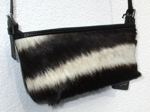 "Handtasche /""Suzy/"" Zebra Fell 25 cm LP € 149, FSP Fashion Sensitive Planet"