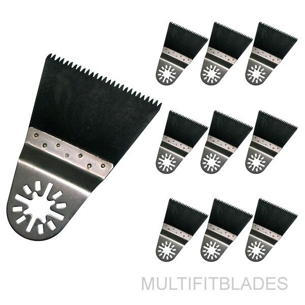 10 Japan Tooth Oscillating Tool Uni-fit Saw Blades for Fein Multimaster, Ridgid+
