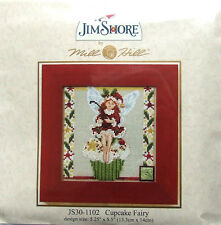 "Mill Hill Cross Stitch Kit de grano » Cupcake Fairy ""por Jim Shore 30-1102"