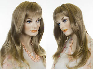 Long-Wavy-Softly-Layered-Style-Blonde-Brunette-Red-Straight-Wigs-With-Bangs
