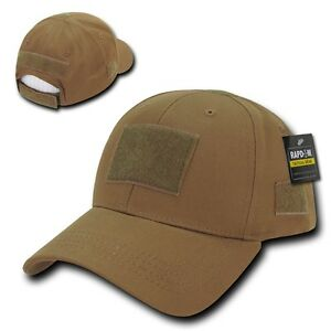 Details about Solid Coyote Brown Tactical Operator Low Crown Contractor Military  Patch Cap Hat cd5cbab6530