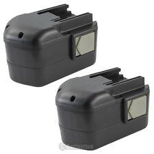 2 x 2.0AH 14.4V 14.4 VOLT Battery for MILWAUKEE 48-11-1000 48-11-1014 48-11-1024