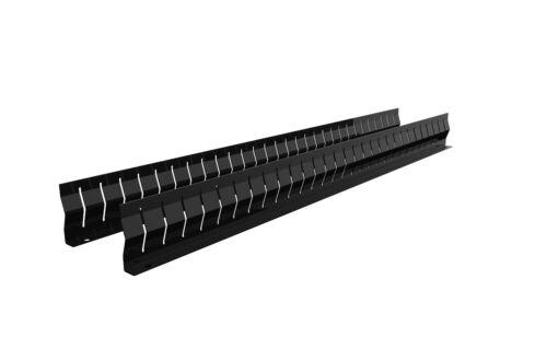 und Rückseite für Schubladenteiler 2-tlg 566x62 mm Boxo DD009-1 Vorder