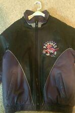 Medium Toronto Raptors Leather Jacket