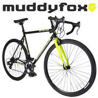 Muddyfox Road 14 Touring Road Bike With 700c Wheel In Black And Yellow