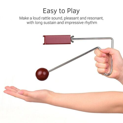 Beat Vibraslap Vibra Slap Musical Hand Percussion Instrument Sound Effects