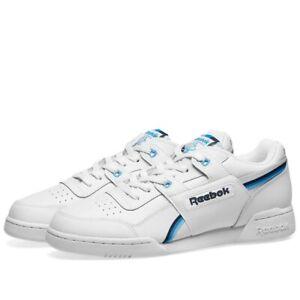 Reebok-Workout-Plus-Mu-Baskets-Homme-DV6769-Brand-New-Boxed-UK-7-5