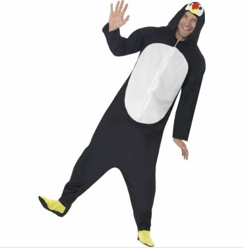 SALE Smiffys Penguin Onsie All In One Fancy Dress Christmas Costume