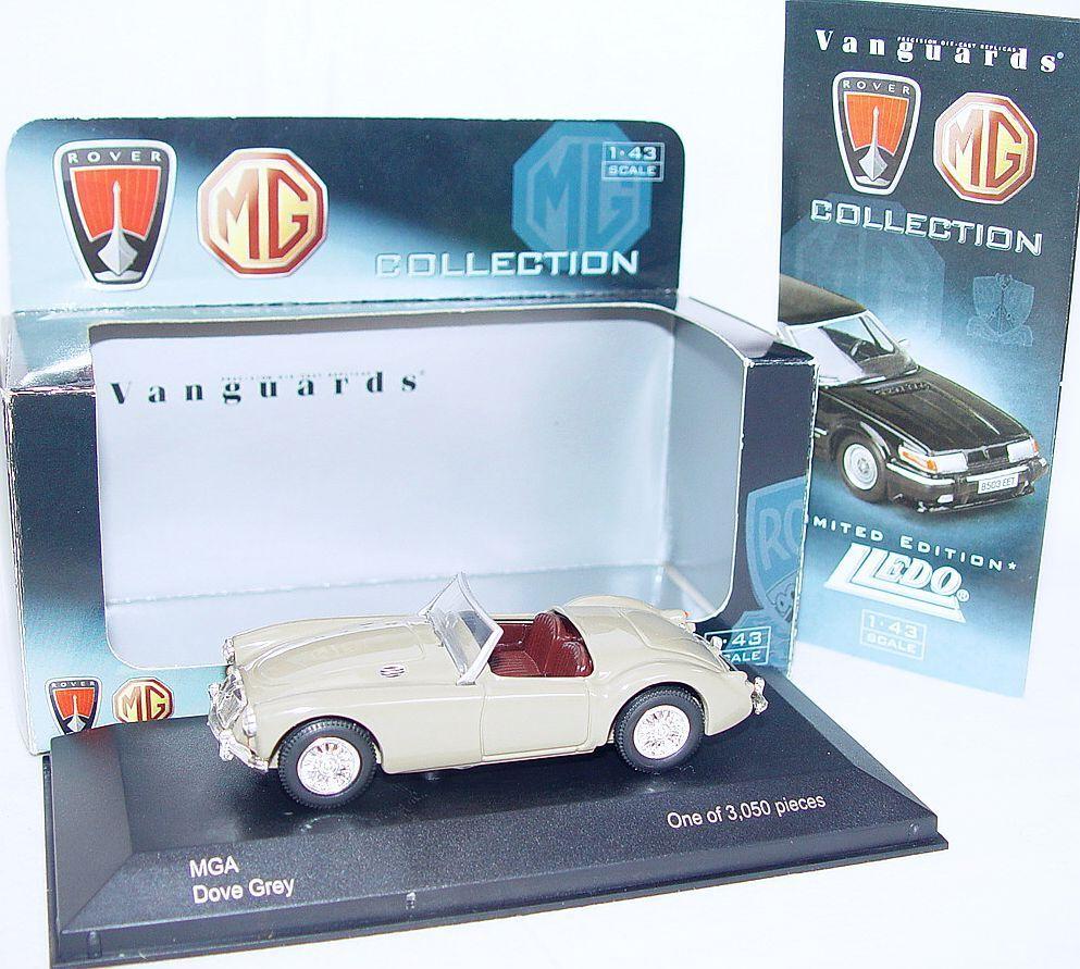 Lledo Corgi Vanguards 1 43 MGA Rover Rover Rover  gris Paloma  Edición Limitada coche MIB`04 Rara fef4c5