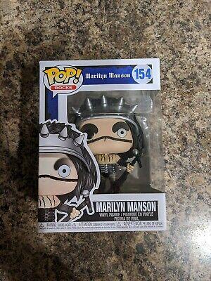 Marilyn Manson POP Rocks #154 Vinyl Figure FUNKO
