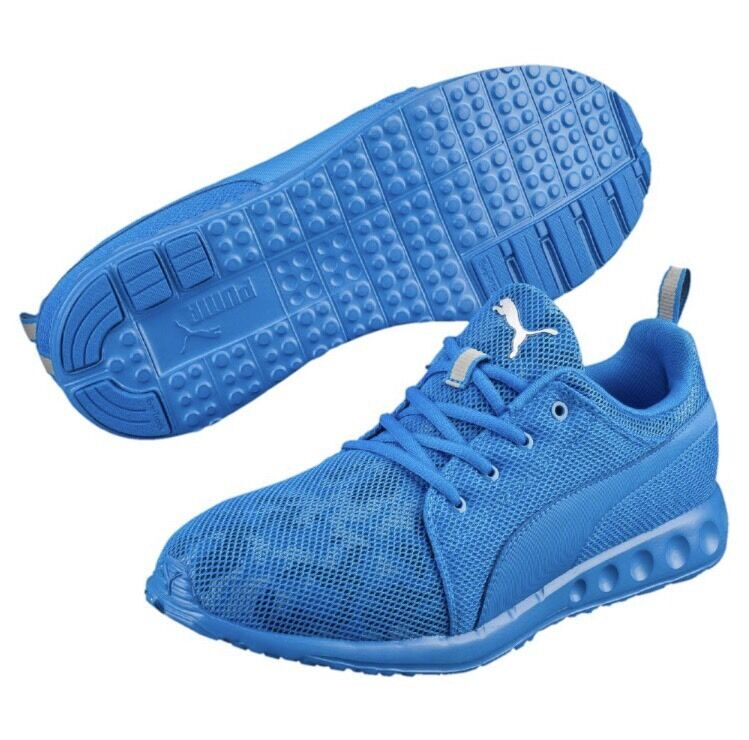 Uomini puma carson cam sport scarpe da ginnastica, nuove maglie blu sport cam di scarpe da corsa 11 388ce9