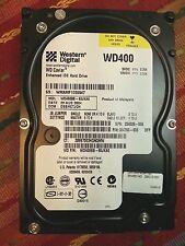 """Western Digital WD400BB-60JKA0 40gb IDE 3.5"""" Hard Drive - Working pulls"""