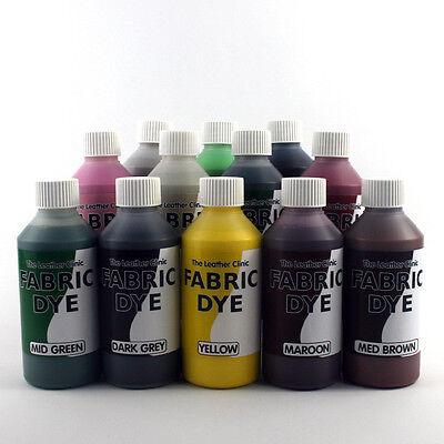 Liquid Fabric Dye ALL COLOURS for Sofa, Car, Cotton, Denim, Repairs & Re-Colours