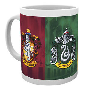 Détails Sur Harry Potter Gryffondor Serpentard Serdaigle Crest Tasse Tasse à Café Poudlard