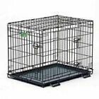 Midwest 1536DDU Folding Metal Dog Crate - Black