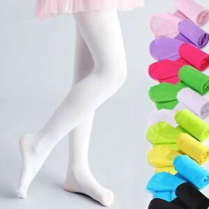 fb6ecd8b3cd1 Kids Baby Girls Velvet Tight Ballet Dancing Pantyhose Elastic Warm ...