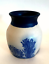 The-Elements-Pottery-Tobacco-Tree-Vase-Cobalt-Blue-Design-4-inches-Tall-Signed thumbnail 6