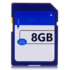 New 8GB Class 6 C6 SD Card Memory Card For Digital Camera Dash Cam MP4 Tablet