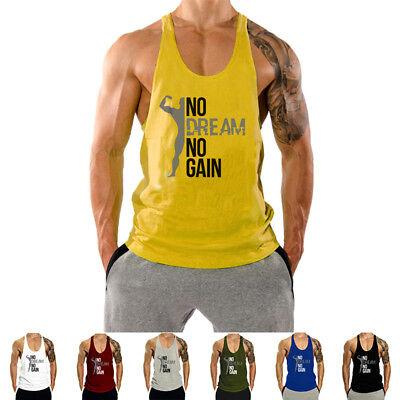 HOTCAT Homme D/ébardeur de Sport T-Shirt Gilet sans Manche Maillot Bodybuilding Tank Top Stretch Fitness Gym D/ébardeur Raidisseur Gilet Coton