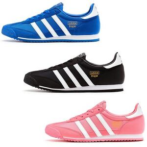 Image is loading Adidas-Originals-GS-Dragon-Suede-Trainers-in-All-