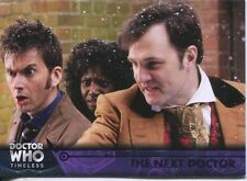 Doctor Who Timeless Purple Parallel [##/50] Base Card #67 The Next Doctor