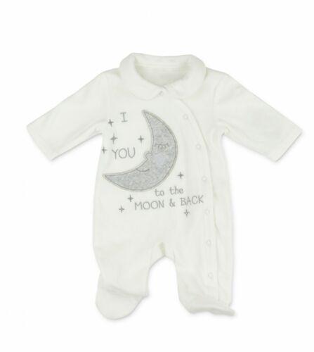 PITTER PATTER Baby weicher Nicki Strampler Einteiler Gr 3-6 Monate