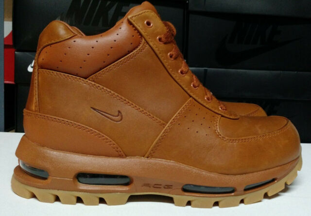 29e9094128 Nike Air Max Goadome Size 11.5 Tawny Light Brown Gum Mens Boots Shoes 865031 -208