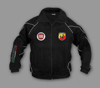 Neu Fiat Abarth Fleece Jacke Fan Herren Kleidung Stickerei Embleme Bekleidung | eBay