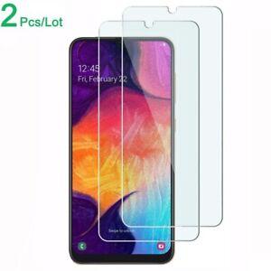 Samsung-A10-A20e-A40-A50-A70-A80-Case-Friendly-Tempered-Glass-Screen-Protector