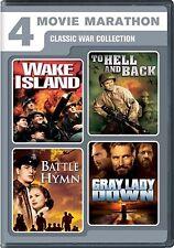 NEW DVD Four-Movie Marathon: Charlton Heston, Rock Hudson, Audie Murphy, David