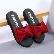 6a566ac0ab9d item 1 Ladies Women Bow Summer Sandals Slipper Indoor Outdoor Flip-flops  Beach Shoes -Ladies Women Bow Summer Sandals Slipper Indoor Outdoor Flip- flops ...
