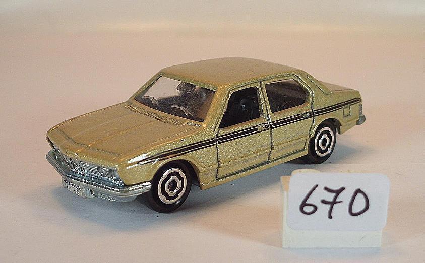 Majorette 1 60 Nº 256 BMW 733 Limousine Marron Clair Métallisé  670