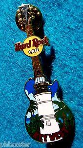 Llaves-Oeste-Florida-Llaves-Hrc-Faro-Gibson-Guitarra-Hard-Rock-Cafe-Pin