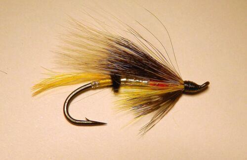 Steelhead Flies Dusty Miller  #4 Salmon