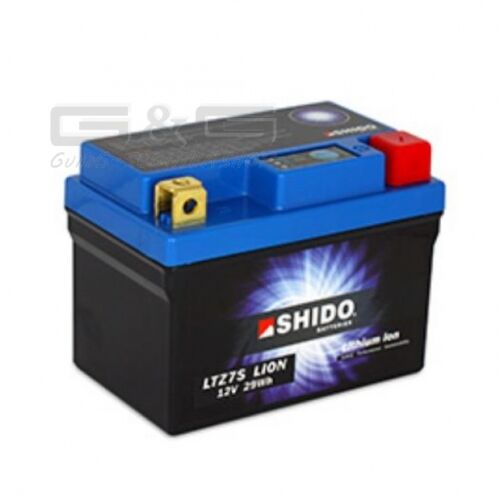 1.6 ytz7s Lithium-ion Shido Scooter Motorcycle Quad Universal Battery 12v 6ah