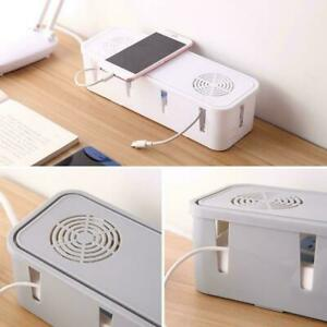 Cable-Tidy-Box-Case-Wire-Cable-Management-Socket-Safety-Organizer-Storage