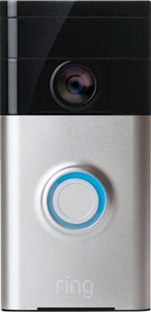 Ring - Wi-Fi Smart Video Doorbell - Multi