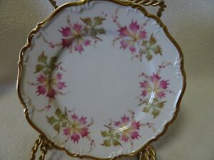 EDELSTEIN-BAVARIA-MARIA-THERESIA-034-OPHELIA-034-CHINA-7-7-8-034-SALAD-PLATE-GERMANY