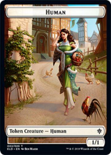 MtG Magic The Gathering Throne Of Eldraine Token Cards x1