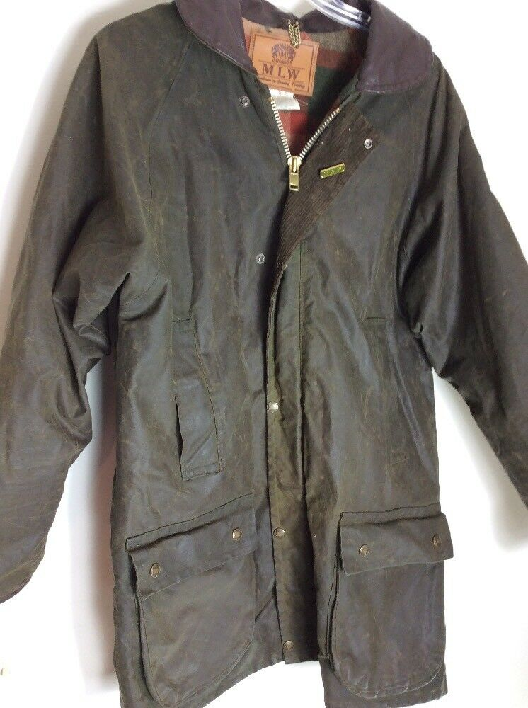 MLW Country  Herren WAXED Cotton Coat Größe S England