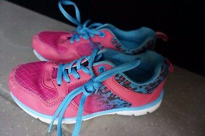 Schöne Mädchen Turnschuhe Gr. 32 von Friboo Hallenschuhe Schuhe Sneaker pink