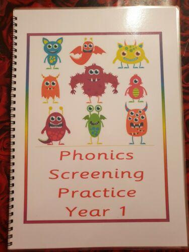 Wipe Clean Book Phonics Screening Pack Laminated--year 1 Test