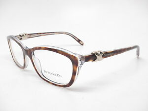 53b8b833010b Tiffany   Co TF 2074 8155 Havana   Transparent Rx-able Eyeglasses ...
