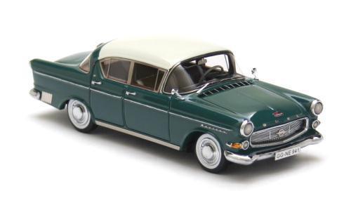 Opel Kapitän 2.5 White over Green 1958 1 43 NEO 43941