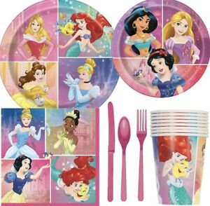 DISNEY-PRINCESS-Party-Supplies-Favors-Decorations-Bundles-See-Selections-NEW