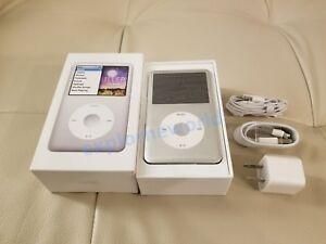 New Apple Ipod Classic Video 6th Gen 160gb Silver Mp3 Player 90days Warranty Ebay
