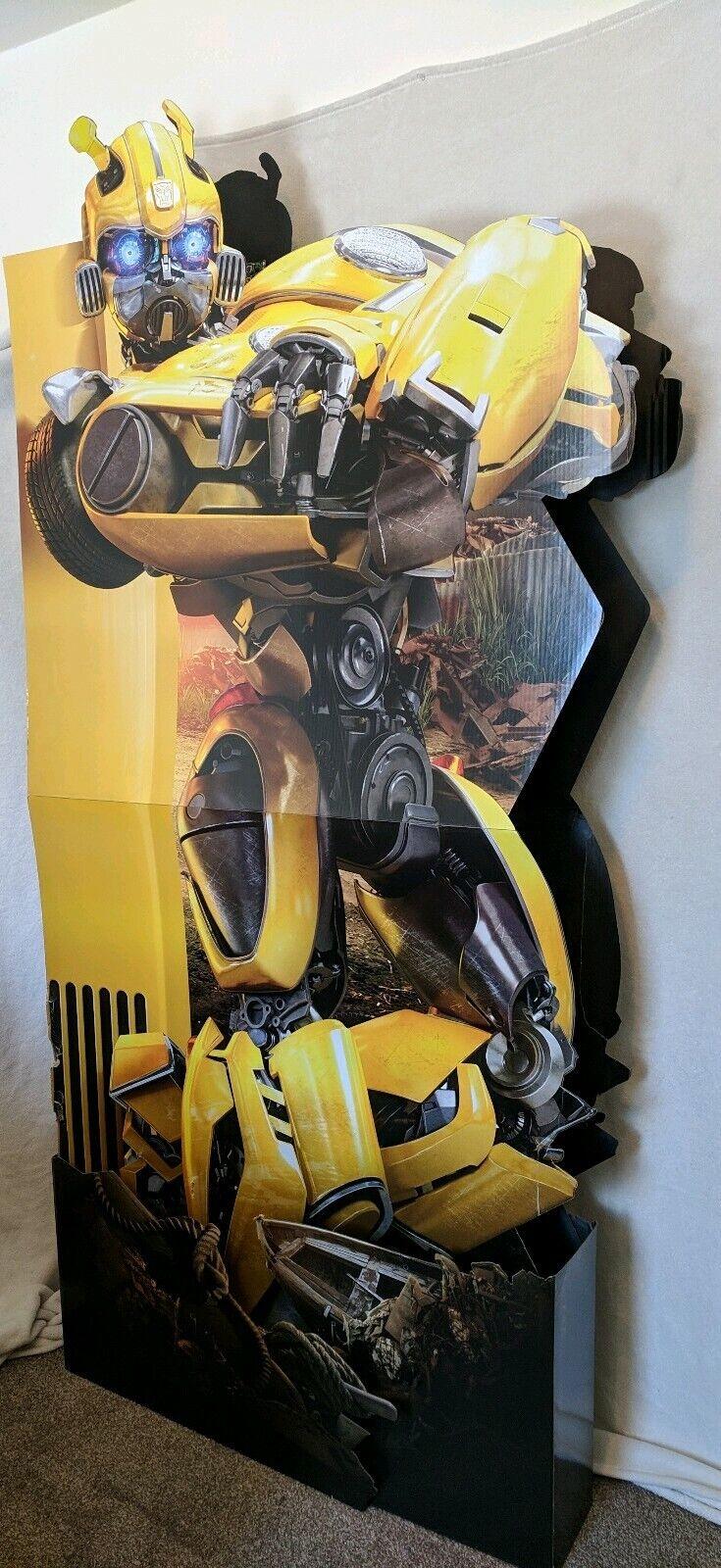 Large TRANSFORMERS Bumblebee Movie Display