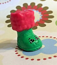 Shopkins Season 3 Christmas Exclusive 2015 Snug Ugg Boot Green and Red